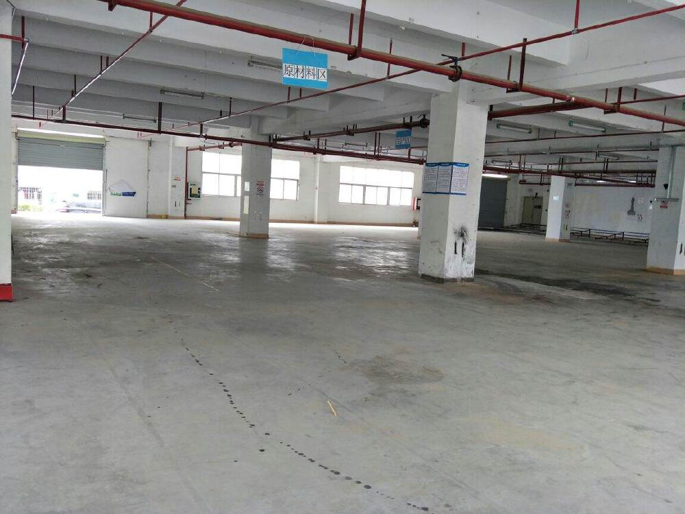 深圳龙岗布吉布澜路新出1楼1650平园区空地大高速路口出租