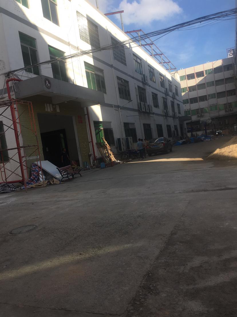 独门独院厂房1800平方三层空地1000平方