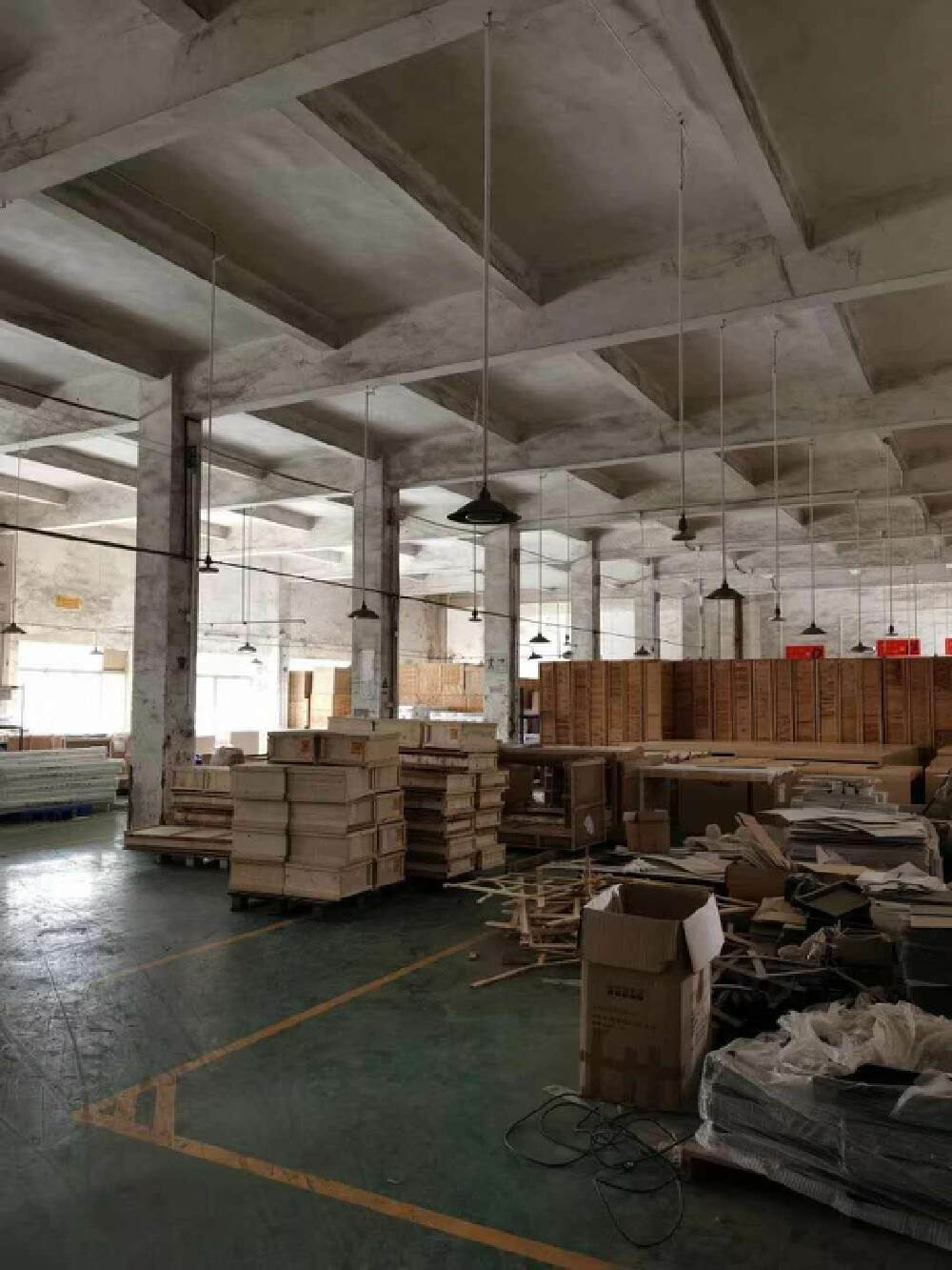 太和沙亭岗工业园一楼1500方,租18块