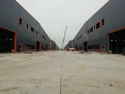 四会工业区原房东11米高可架行车全新厂房出租,大小可分租