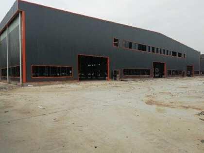 四会工业区原房东全新单一层钢结构厂房出租,证件齐全,可分租