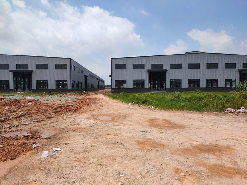 广东省肇庆市全新带有牛角蒸汽天然气特种厂房