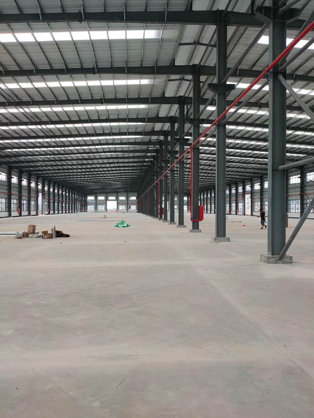 广东省肇庆市带有蒸汽,天然气全新钢构厂房