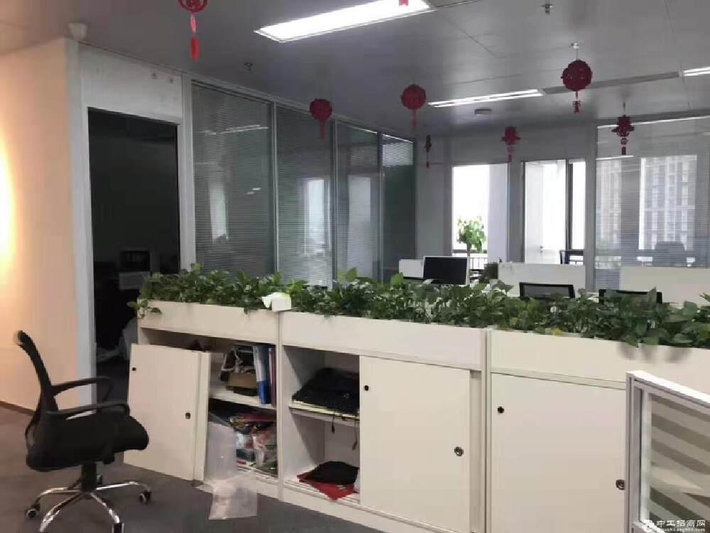 天河智慧城高塘石地铁站精装修高端研发办公室1500平招租
