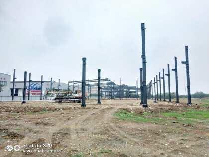 出售广汉新丰工业园区新建单层钢结构厂房