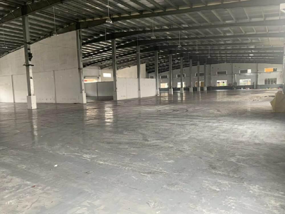 白云湖唐阁村原房东大路边1000平方8米高钢构厂房出租-图2