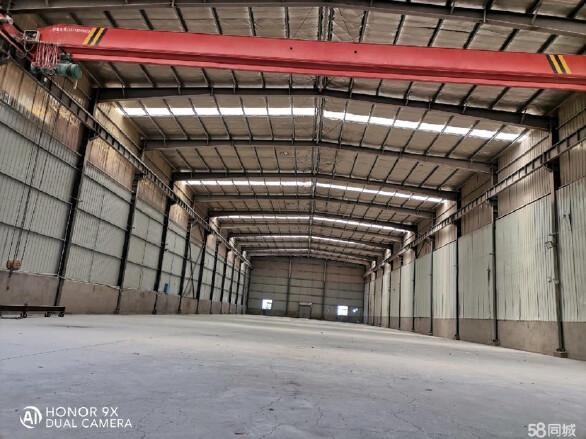 湖南钢材大市场2100平米带10吨行车厂房出租