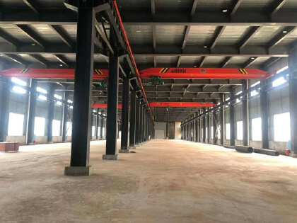 雨花区9600平米生产型带4台10吨行车出租,可分租