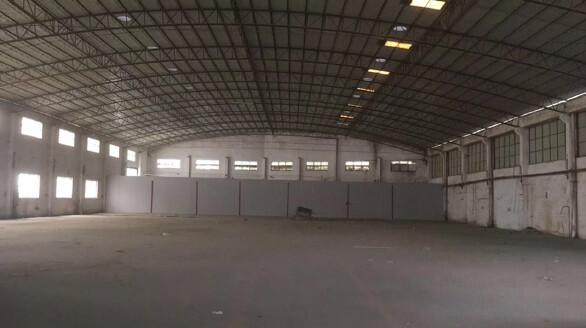 番禺沙头新出3000方厂房仓库出租,交通便利,证件齐全。