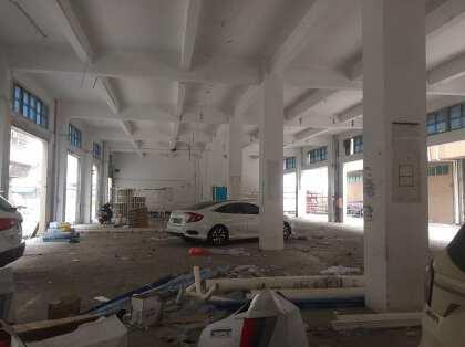 新塘牛仔城附近新出一楼厂房1200平,可做仓库,生产蔬菜配送