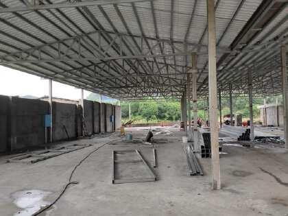 1200平米全新钢结构厂房出租
