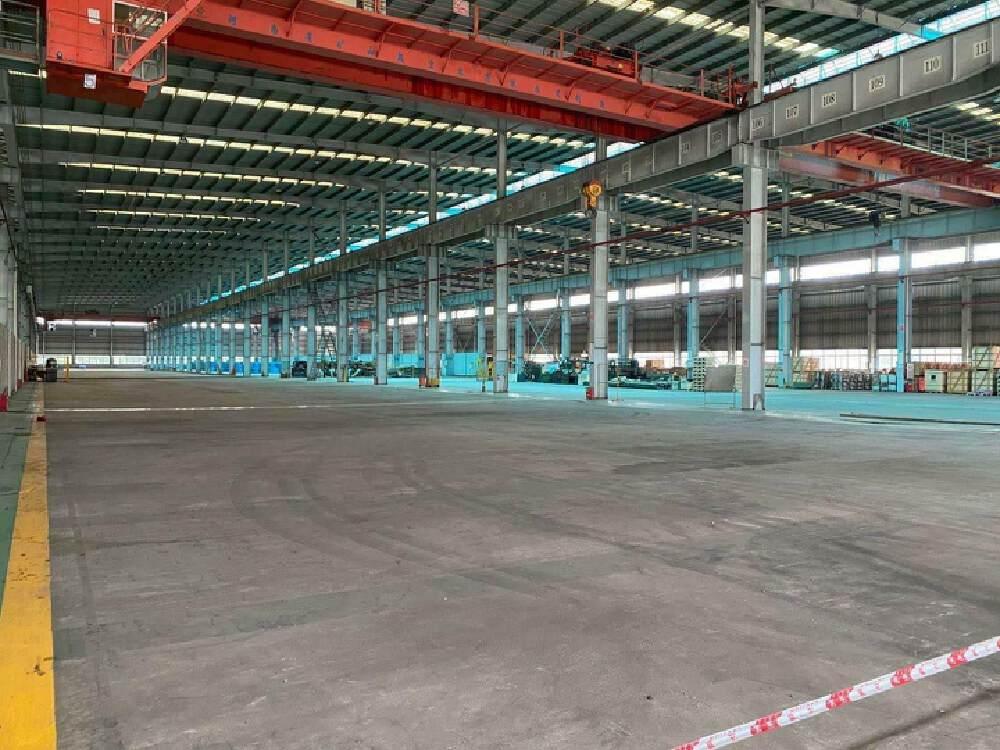 黄埔开发区18米高六千平特种厂房出租带25吨行车配电1500