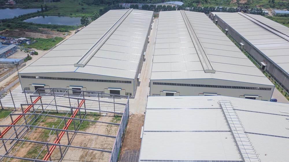 肇庆市高要区金利镇大型产业园7万平出租可做食品泡沫饮料等行业