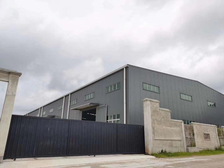 江门台山全新独院单一层带天然气消防合格滴水高钢构可分租出租