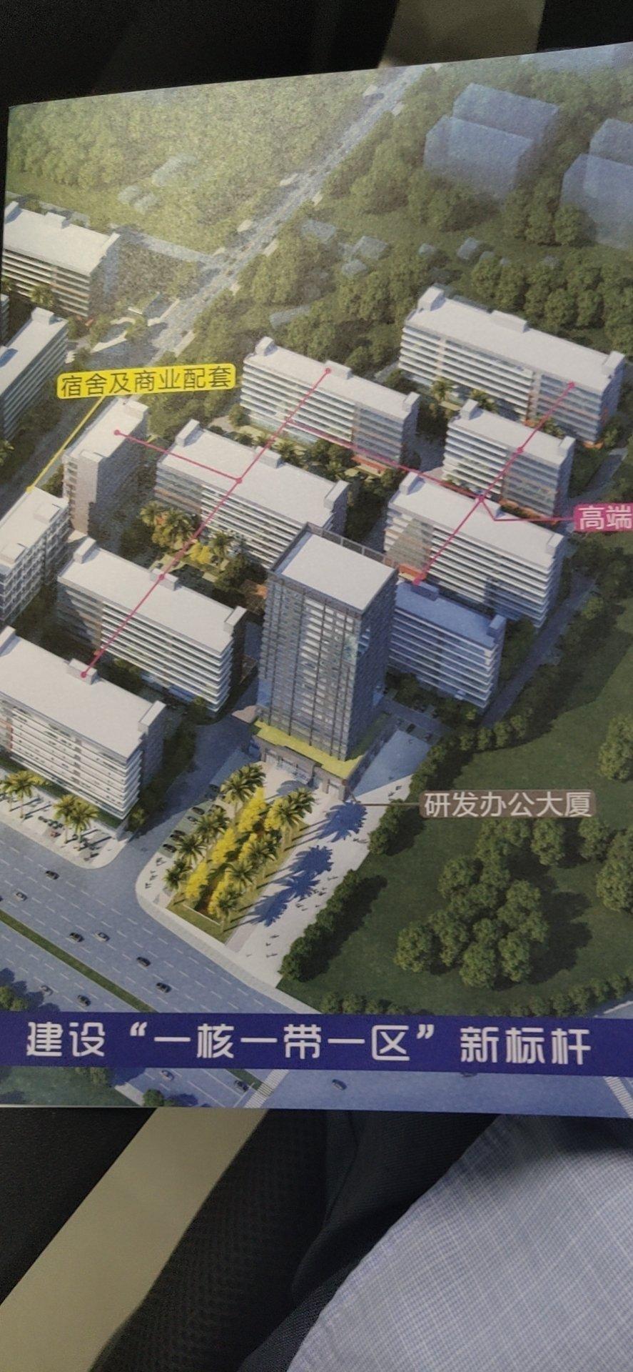 博罗园洲镇全新工业园5000至1万平方分栋销售地铁口附近。