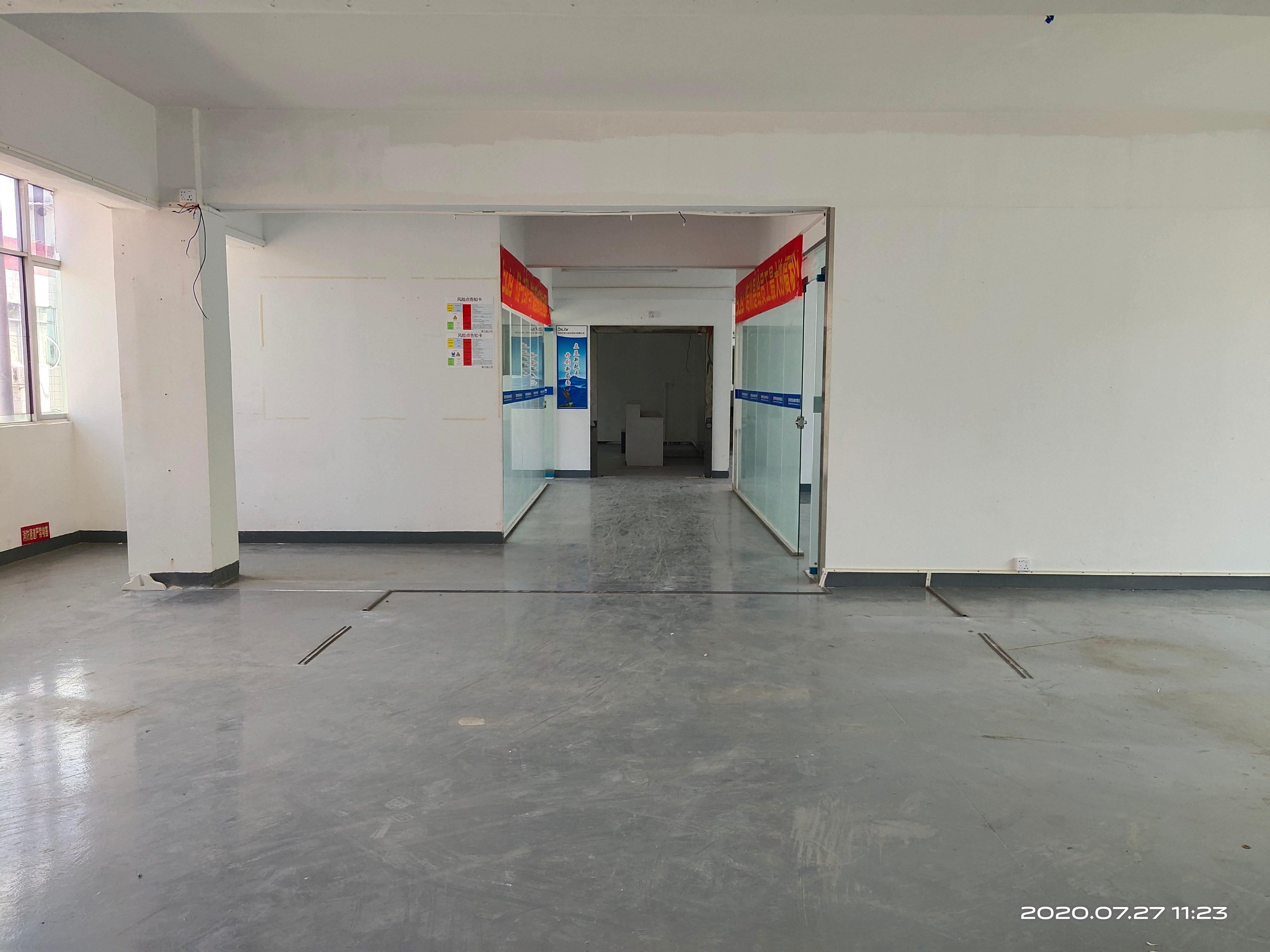 1000平楼上至臻级标准厂房,办公生产仓库一体化,有前台