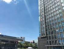 华南城地铁出口甲级写字楼半层面积1098平豪装大气使用率高