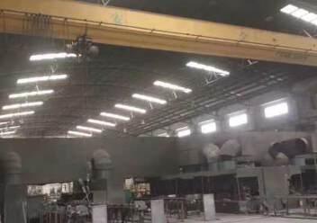 大泽镇单一层厂房出租带两台十吨航车注塑机械设备等更多行业图片4