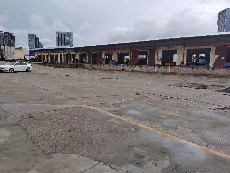 布吉上李朗华南城附近单一层钢结构带卸货平台14000平方出租