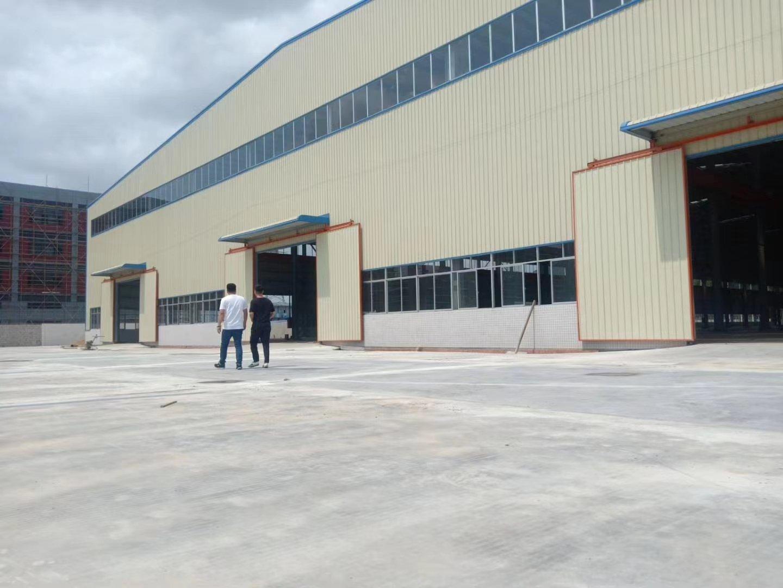 广东省肇庆市高要区金利镇全新钢构长度260米厂房