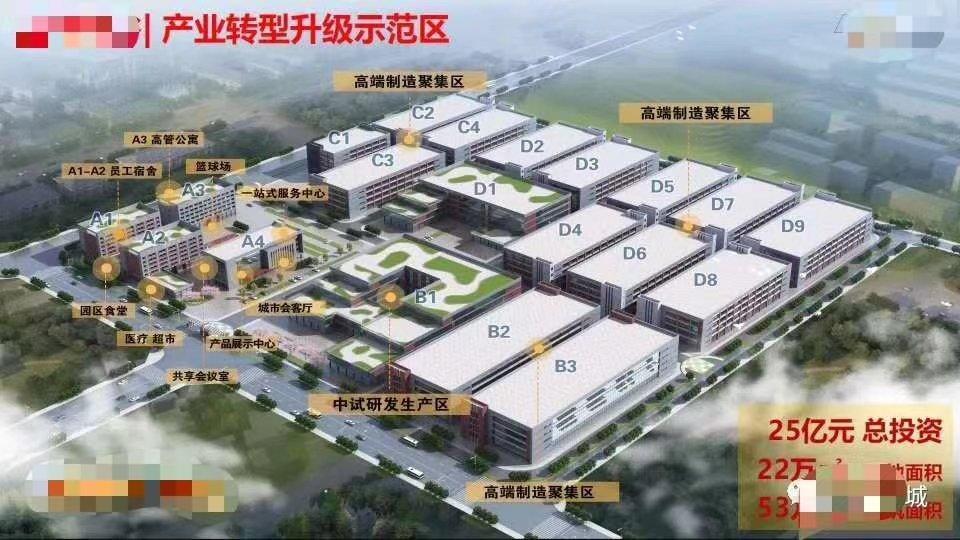 政府出资23亿重金打造53万方,促进工业发,低价出租14元