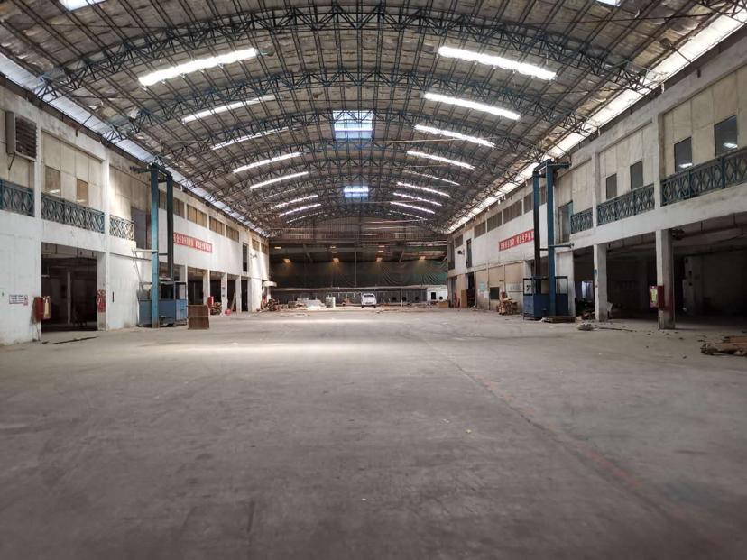 深圳市龙岗区原房东一楼钢构厂房出租11000平形象好交通方便