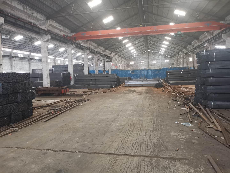 河滘单一层1000平米10米高钢构厂房仓库出租