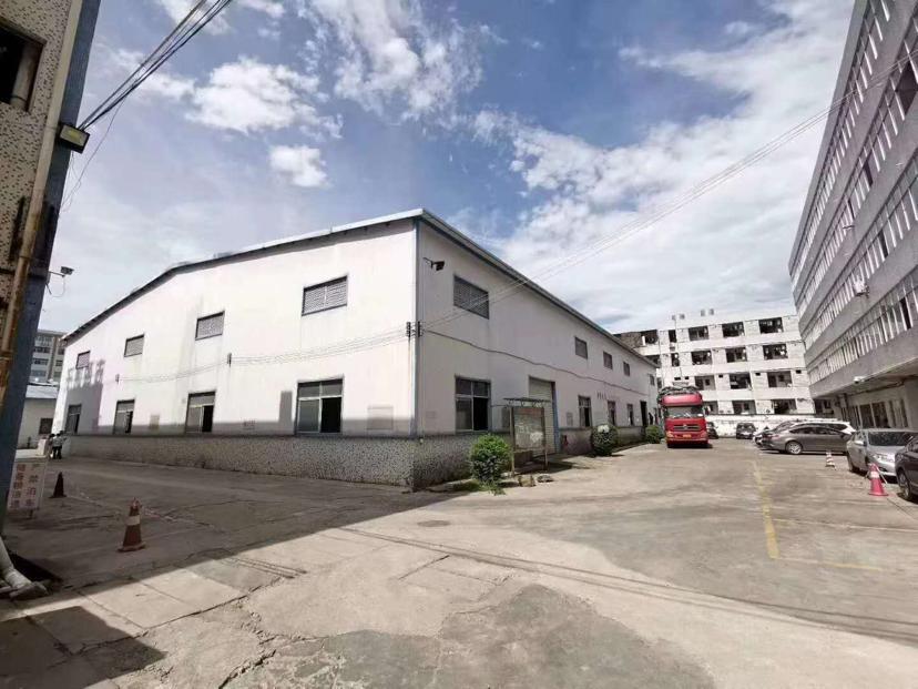 龙岗2000平钢结构厂房高8米原房东仓库厂房岀租500起分租