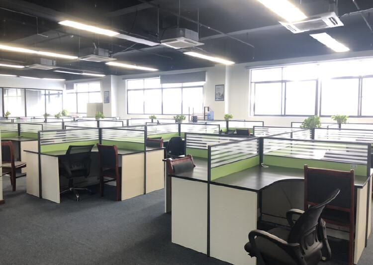 深圳市龙岗爱联地铁站整层办公室出租带家具家电拎包入住停车方便7