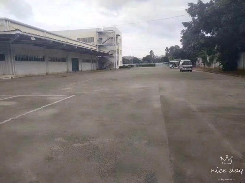 观澜大水田新出标准物流仓库出租,面积8000平方,带卸货平台