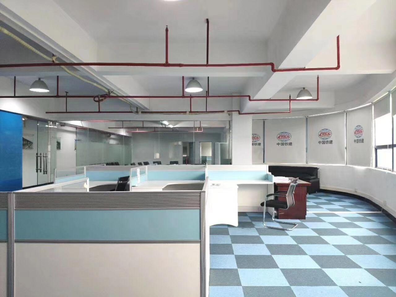 黄去开发区东区精装修楼上办公厂房788平米厂房出租