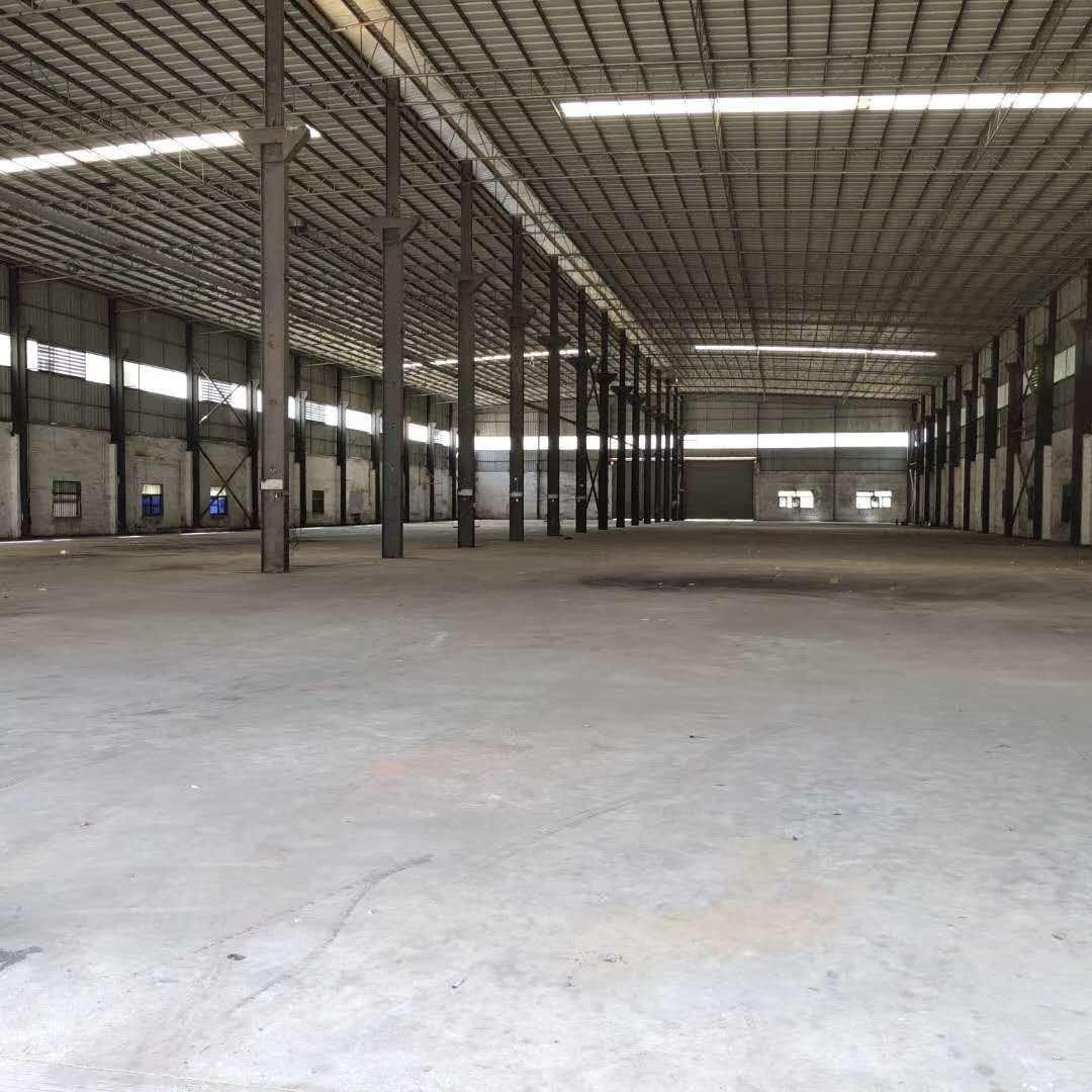 观澜主干道旁边新出钢构12米高钢构厂房,做篮球场,做仓库工厂
