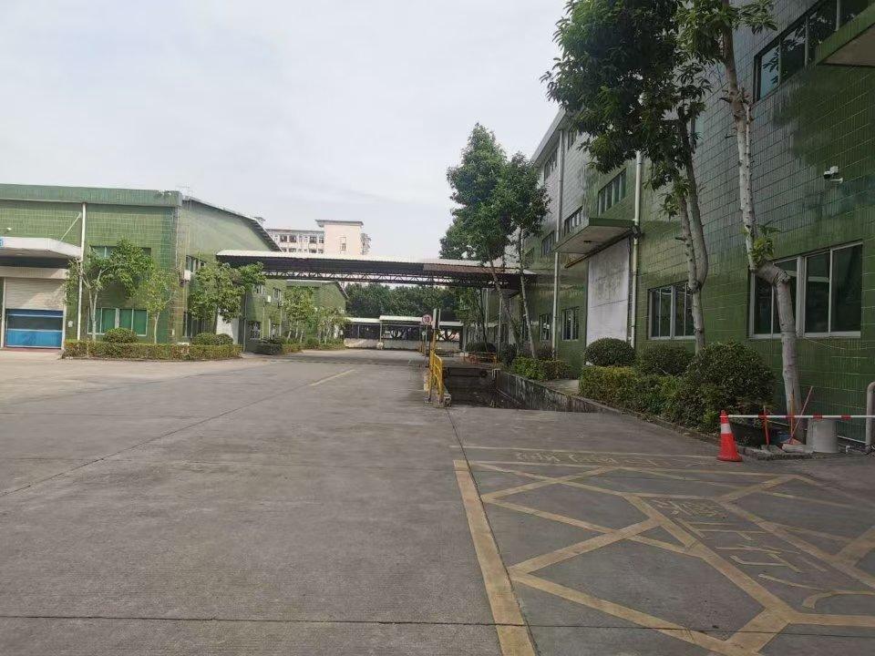 沙井镇西环电子城附近4100平钢结构厂房仓库实际面积出租
