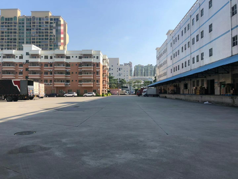 大浪原房东红本独院4万平厂房仓库出租1楼层高7米可分租