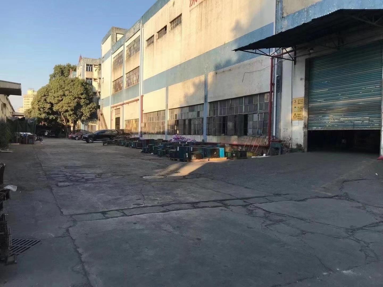 龙华大浪红本厂房仓库6000平原房东实际面积出租分租空地大
