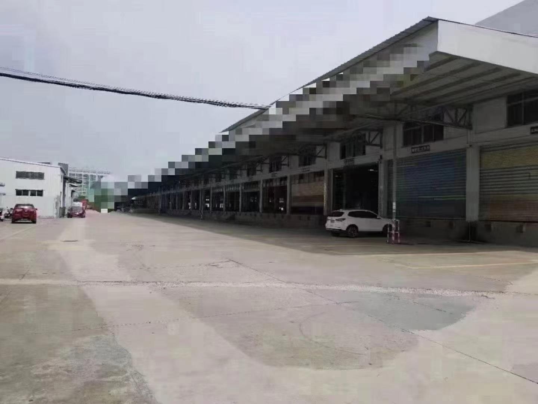 松岗龙大南光高速出口新出物流仓库21600平方带卸货平台厂房