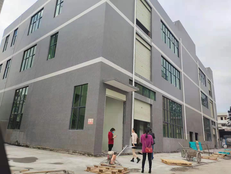 龙华大浪原房东新建独栋厂房仓库1-3层3100平实际面积出租