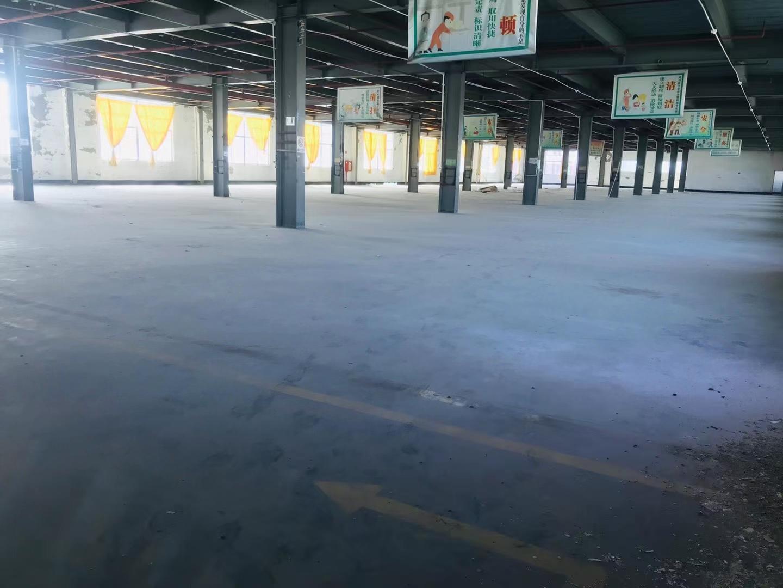 观澜整栋厂房仓库招租1-3层单层面积2700平米园区空地大