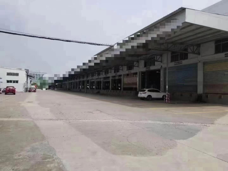 龙岗宝龙工业园独栋单一层标准物流仓库带卸货平台13000平