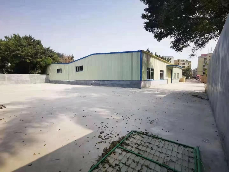 龙华大浪全新单一层独门独院钢结构3000平厂房仓库滴水7米