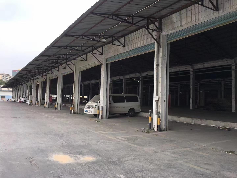 深圳观澜物流配送中心出租,钢结构仓库8000平,空地4000