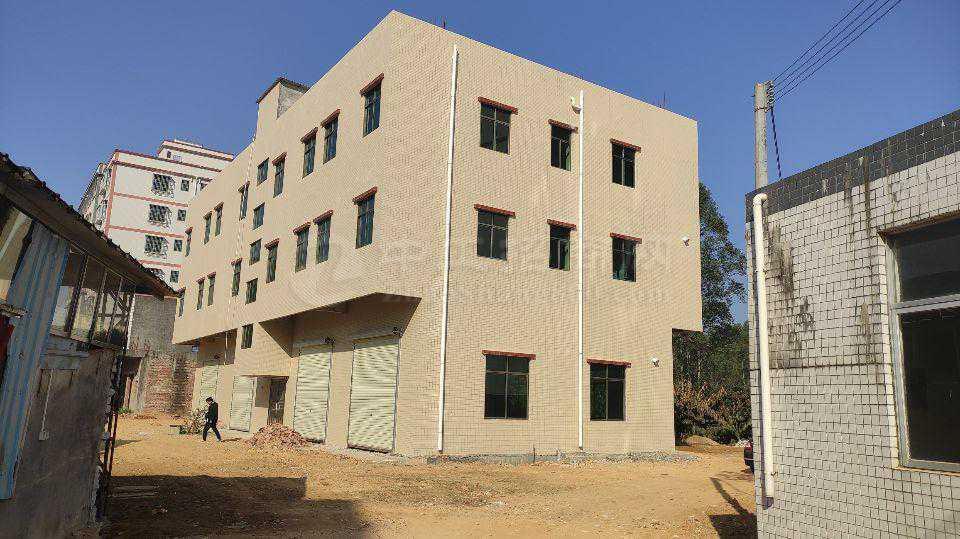 惠阳沙田独栋800平米标准厂房仓库招租证件齐全可分租可办环评