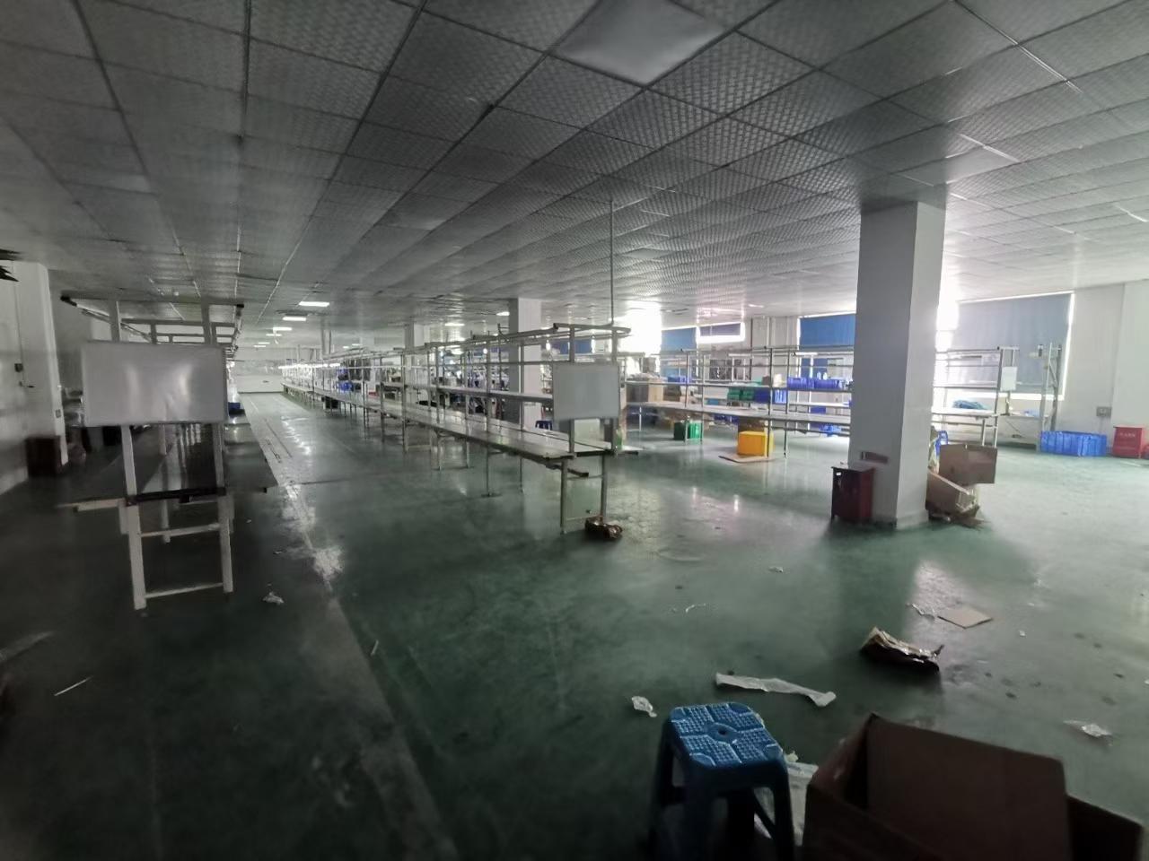 沙井电子烟厂房1900平转让带精装修办公室电池仓库