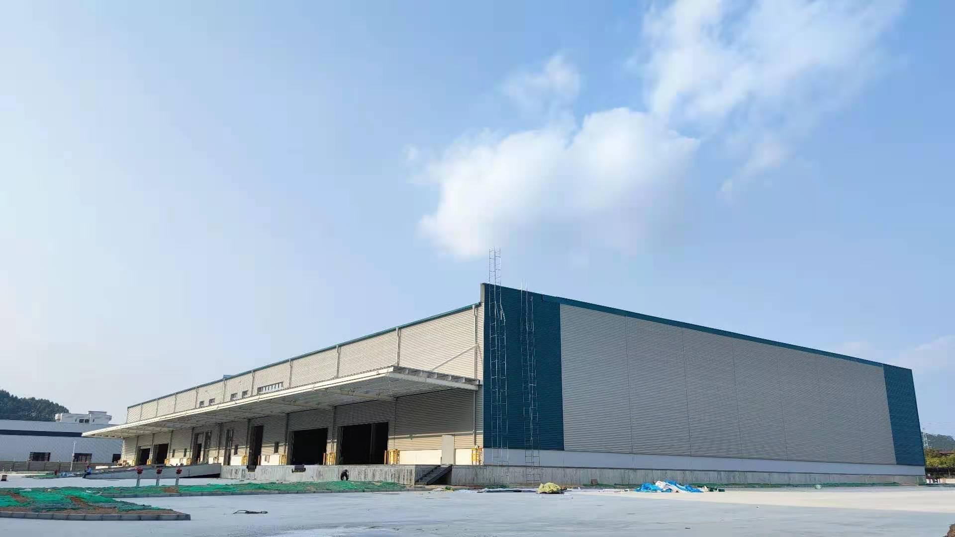 白云区嘉禾单一层厂房仓库18000平方,形象好,交通好