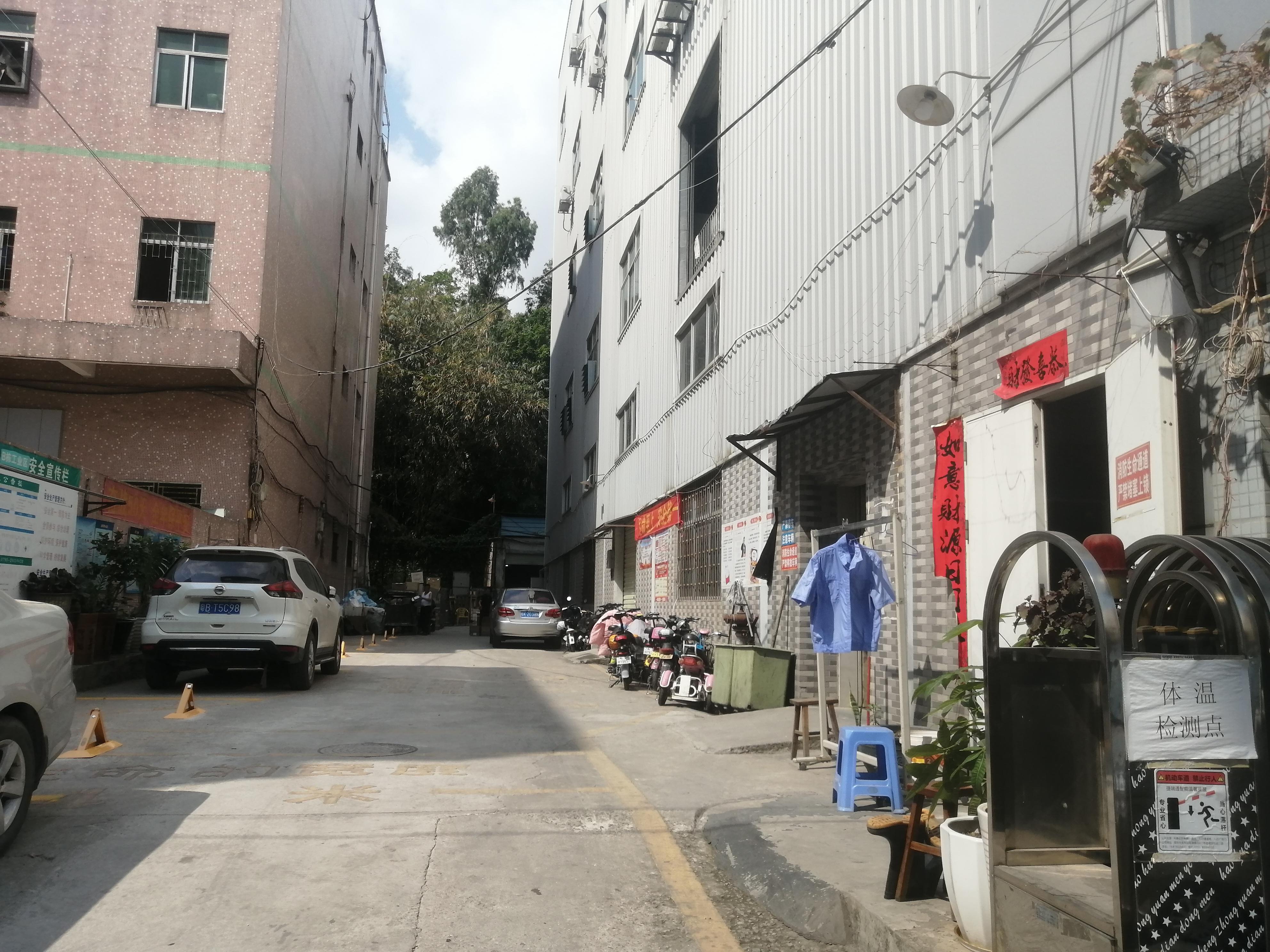 观澜福民茜坑地铁站旁新出靓盘可做小型加工厂仓库
