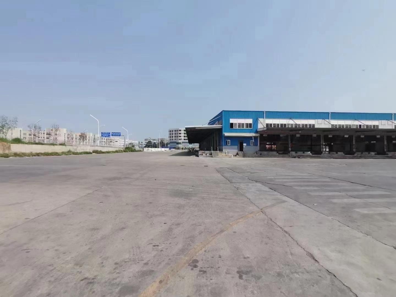 福永物流园新出33000平带卸货平台可分租厂房仓库出租