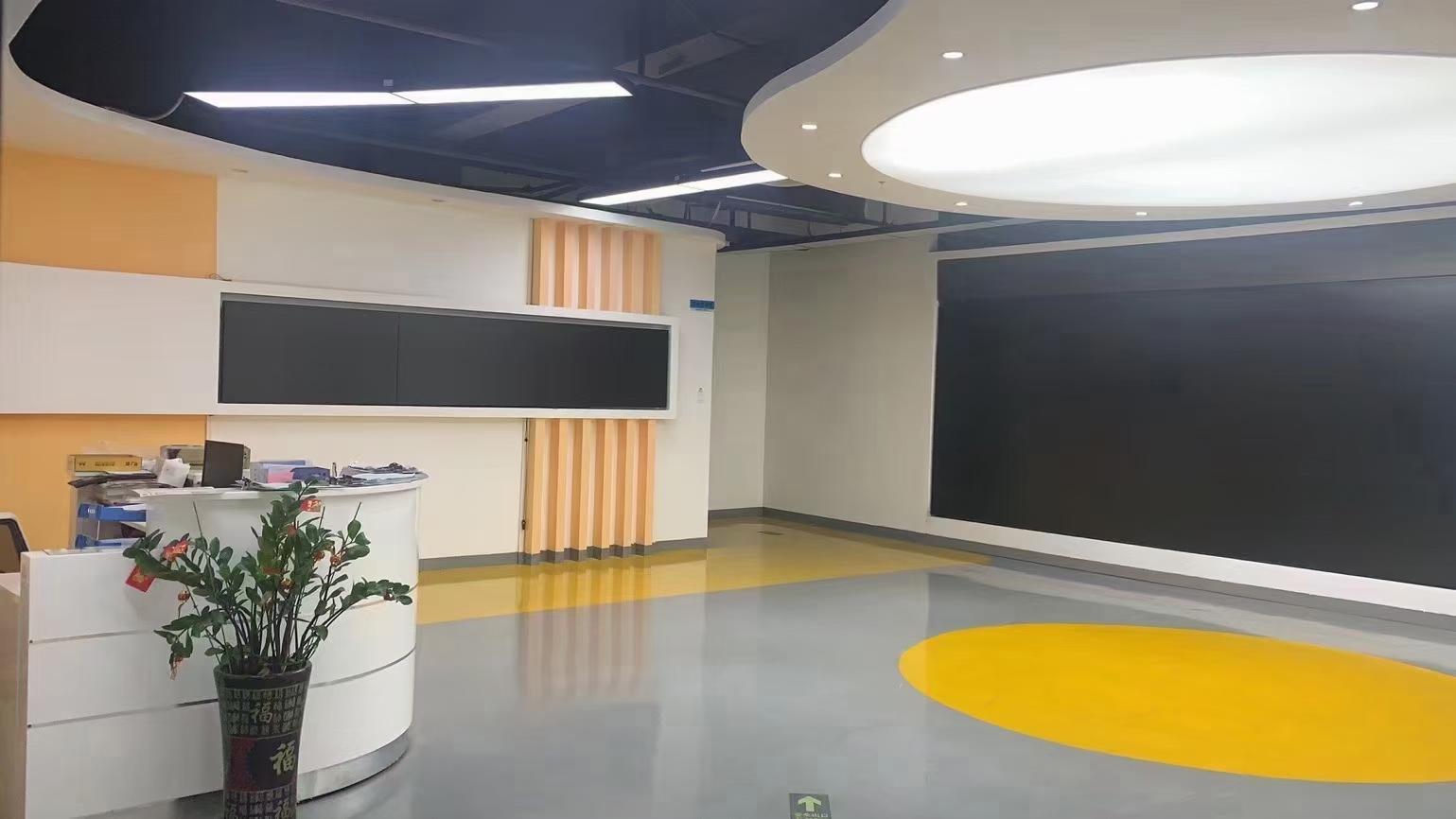 福永和平楼上3300平豪华装修厂房仓库出租
