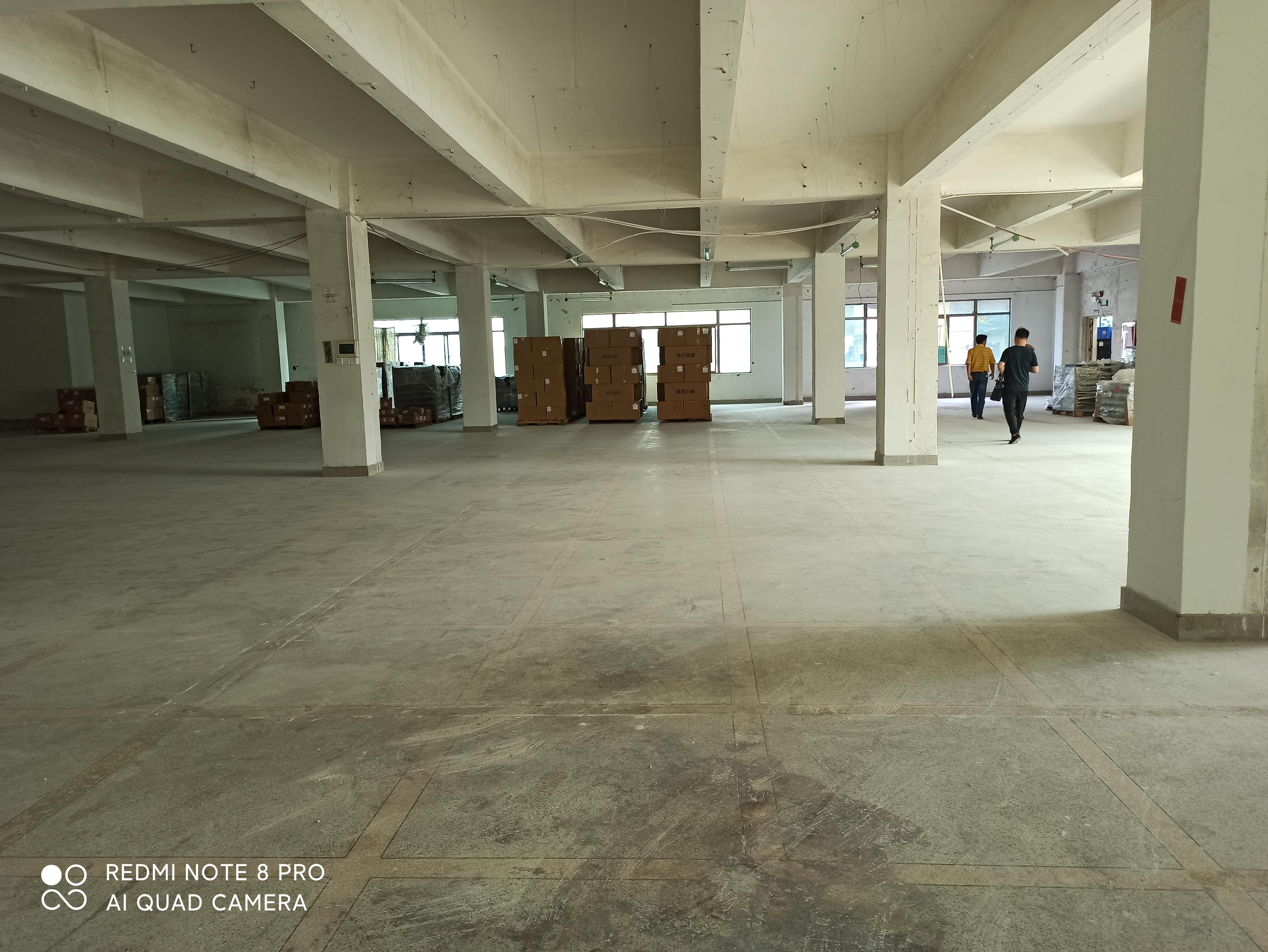 出租龙岗区横岗荷坳电商仓库楼上1100平方园区干净漂亮