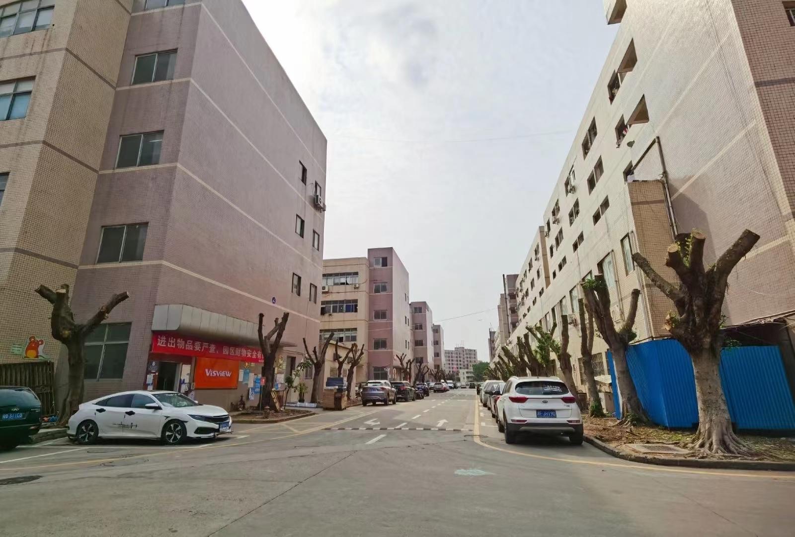 福永凤凰107国道边楼上1300平精装修厂房仓库转让