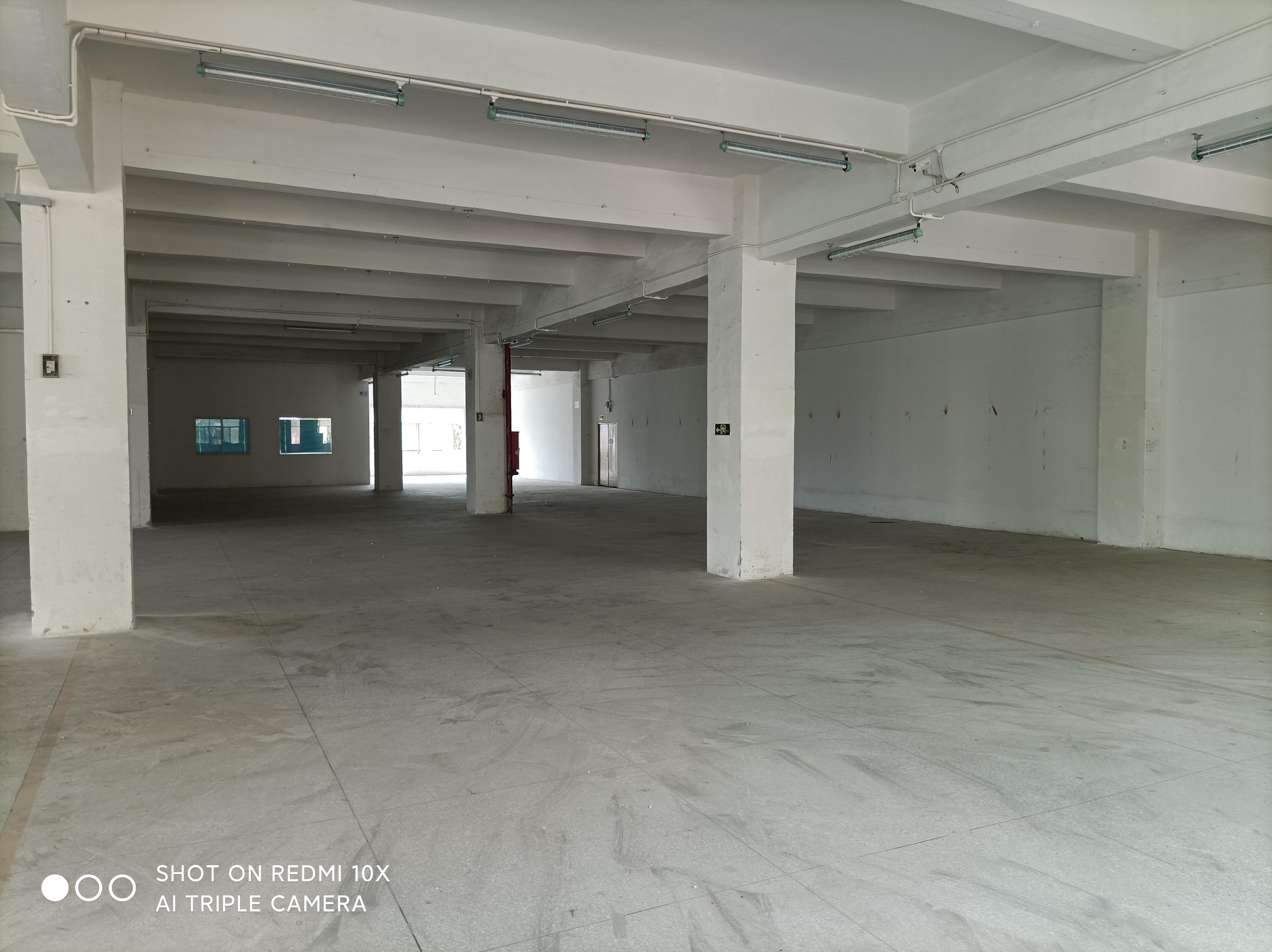 梅观高速原房东楼上1500平方红本厂房仓库出租